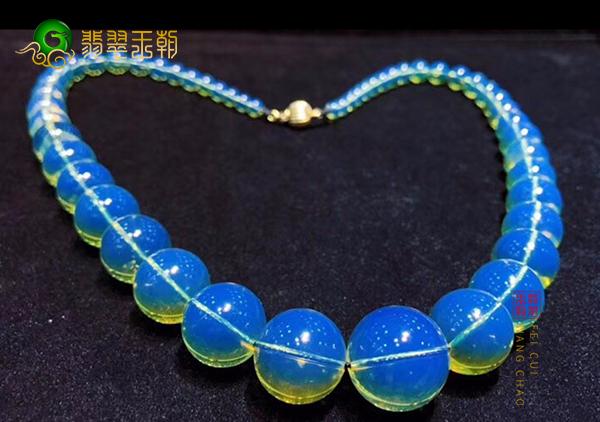 蓝珀珠串挂件塑料仿制品种类特征,蓝珀塑料制品鉴别方法