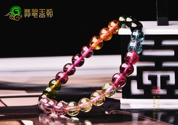 不同水晶彩色宝石珠串手种类对应的十二生肖属相