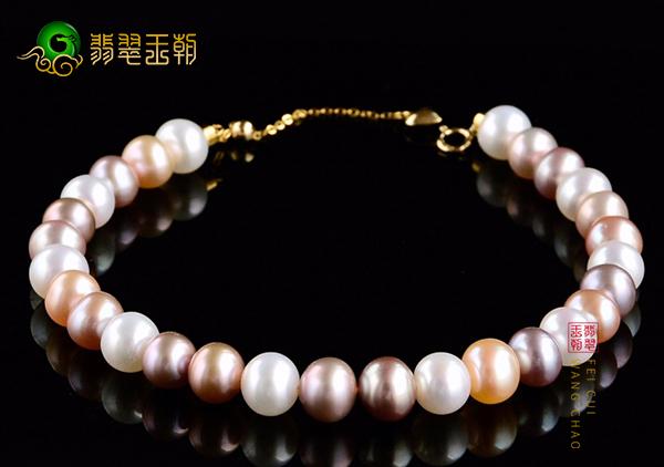 海水珍珠与淡水珍珠手链选购,根据手腕大小以及皮肤颜色搭配