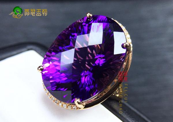 紫水晶戒指选购方法注意事项,紫水晶戒指保养方法