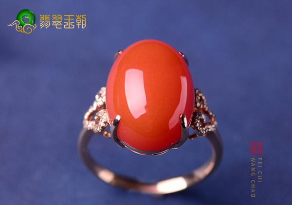 南红樱桃红珠串戒指选购要点,樱桃红品质标准
