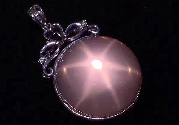 星光粉水晶是什么,星光粉晶选购要注意其星光以及颜色