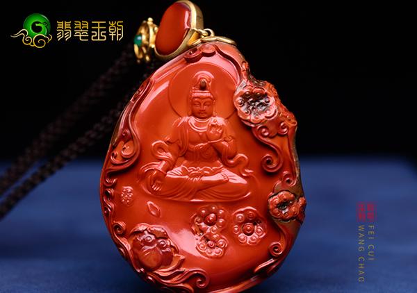 南红挂件雕件中为什么出现最多的是南红观音玉佛