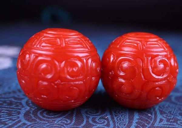 老南红珠子收藏投资时判断是否是做旧南红鉴别要点