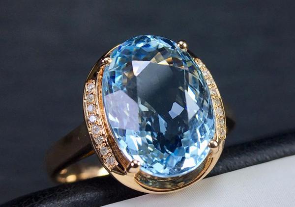 海蓝宝石项链戒指一克拉多少钱,价格影响因素