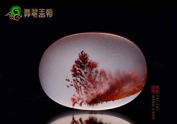 南红冰飘草花器件收藏价值体现,三等级的冰飘草花价值