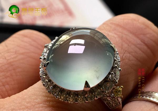 冰种晴水翡翠镶嵌戒指如何选择适合自己的