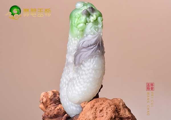 和田玉翠青玉是什么样的,翠青玉摆件收藏价值要求