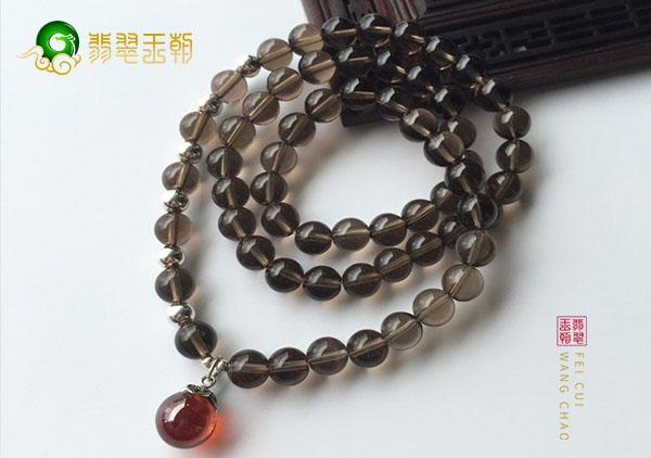 茶水晶珠串手链造假仿制品有哪些,茶水晶珠串鉴别方法