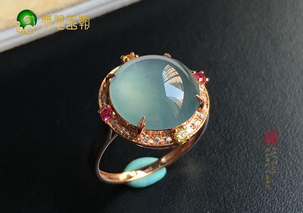 冰种晴水翡翠戒指佩戴可以增财运怎样戴才合适