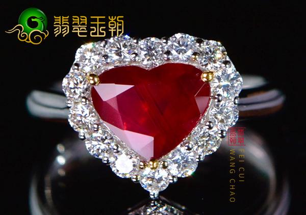 一克拉缅甸红宝石戒指价格多少钱?