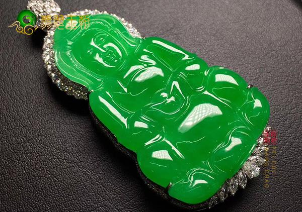 冰种满绿翡翠吊坠大多小巧玲珑有那些款式和寓意