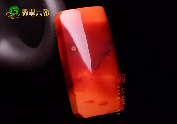 南红火焰红的火焰纹路形成原因详解