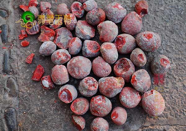 保山南红玛瑙原石的挑选方法及特点