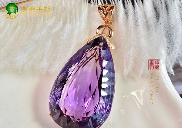 紫水晶项链搭配技巧有哪些?快看下您的水晶项链搭配对了吗?