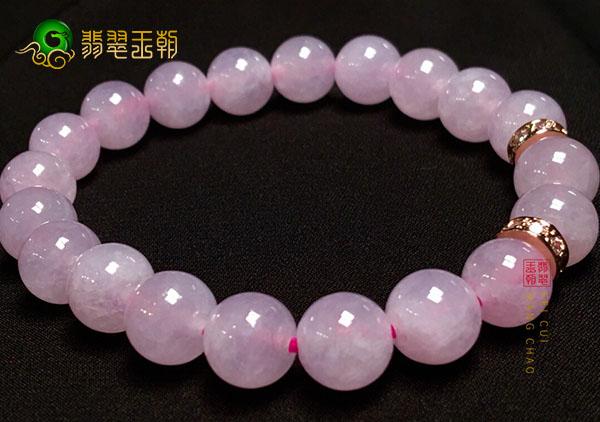 细糯种紫罗兰翡翠圆珠手串挑选和佩戴的讲究