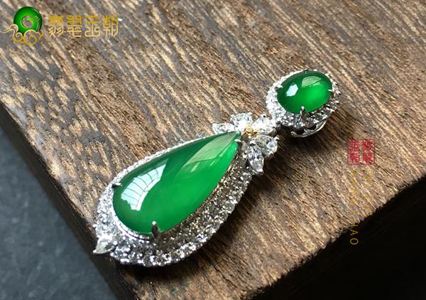 绿色翡翠玉石中5种绿的形状您有了解过吗?