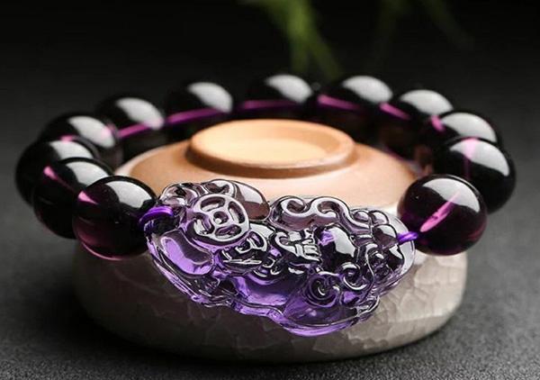 紫水晶貔貅手链佩戴保养禁忌有哪些以及要怎么佩戴?