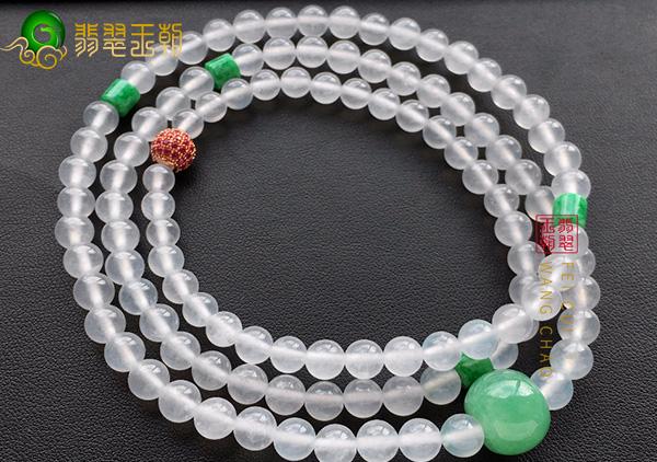 翡翠珠链选购方法有哪些?糯冰种翡翠珠链怎么挑选购买?