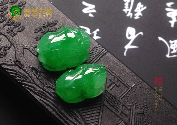 糯冰种满绿翡翠貔貅手链为什么能旺运后代?