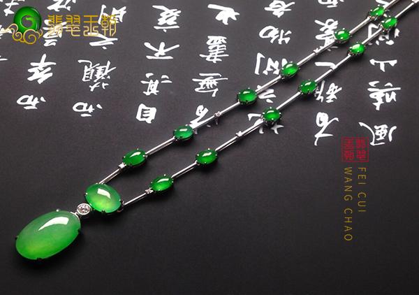 翡翠珠链项链女士在不同年龄段应该怎么搭配?