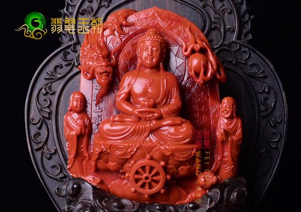 挑选南红观音摆件主要看南红的品质和雕刻工艺