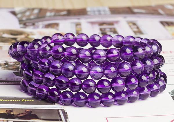 紫水晶珠串项链多少钱一克及选购技巧方法有哪些?