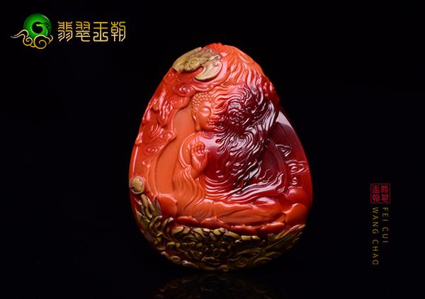 天然川料南红雕件作品有哪些特点呢?