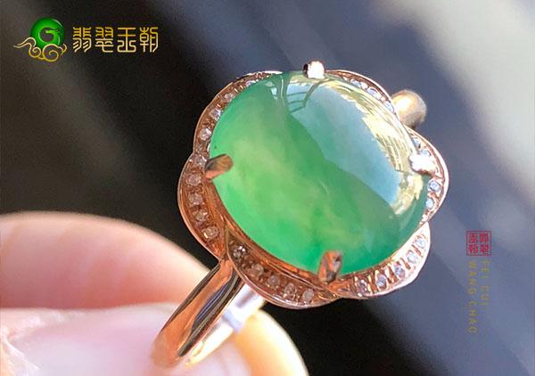 翡翠镶嵌戒指品质一般多少钱可以买到?