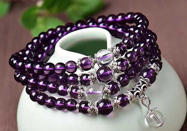 紫水晶珠链根据脖颈长短搭配准则您掌握了吗?