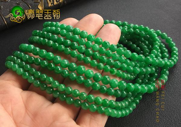翡翠108佛珠手链佩戴有哪些美好寓意?