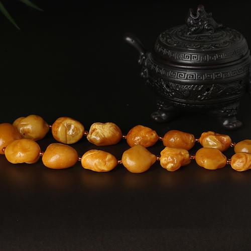 海漂籽料蜜蜡是什么?海漂蜜蜡有什么特点?