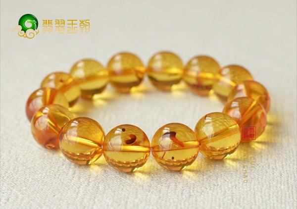 【金色琥珀】金珀的日常佩戴功效作用和保养禁忌