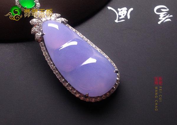 冰种紫罗兰翡翠吊坠价值多少钱能买到?