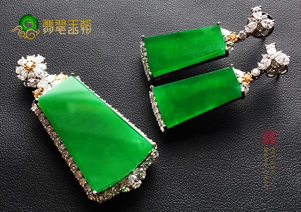 【翡翠鉴别】绿色翡翠和碧玺对比区别和分辨