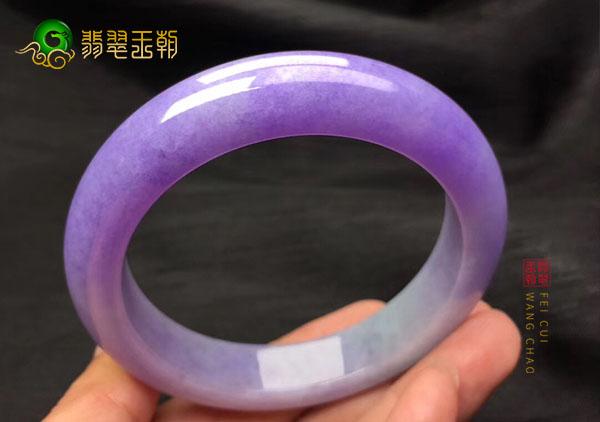 【紫罗兰玉镯】紫罗兰翡翠手镯的价格怎么样