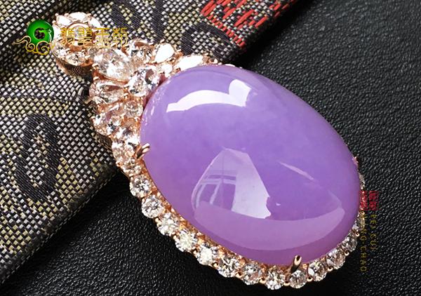 糯种紫罗兰翡翠蛋面镶嵌最受欢迎的五大款式