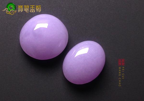 糯种紫罗兰翡翠戒面如何才能挑到称心如意的