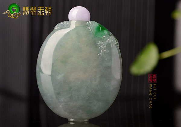 冰种晴水色飘绿翡翠鼻烟壶的由来及历史发展