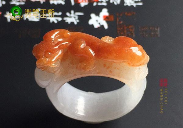 细糯种黄翡貔貅指环戒指买玉和玩玉是不一样的